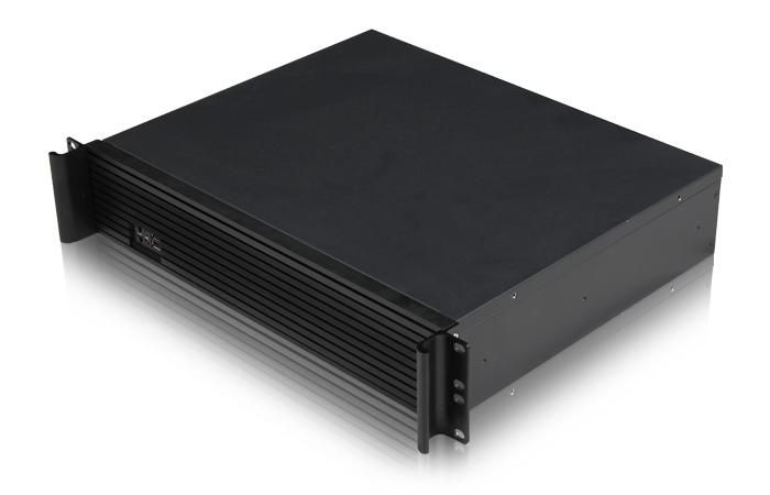 超短2U機箱 高檔鋁面板 2U服務器 防火墻網關機箱 M-ATX ITX