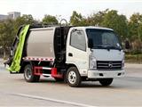 东风10方压缩垃圾车 压缩式对接垃圾车 配置图片