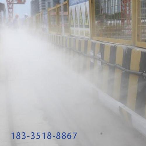 江苏南通场地整体降尘
