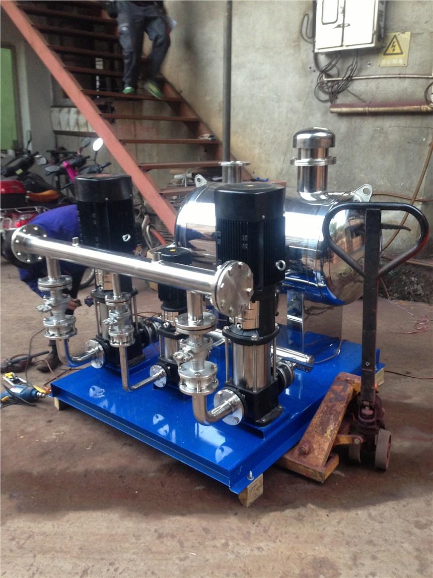 無負壓不銹鋼變頻恒壓給水系統自動無塔增壓泵供水設備