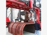 水泊龍門式焊接機器人根據焊接工件可定制
