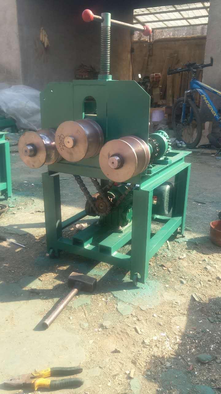 滚动式立式弯管机腾宇机械供应