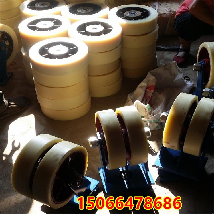 湖北仙桃万向重型脚轮 重型pu万向脚轮价格——现货承载