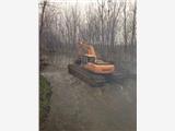 山西太原附近湿地挖掘机出租