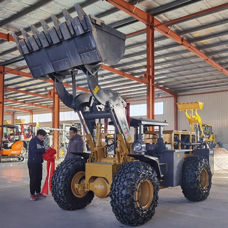 金屬礦用鏟車 載重3噸礦井裝載機 安裝尾氣過濾