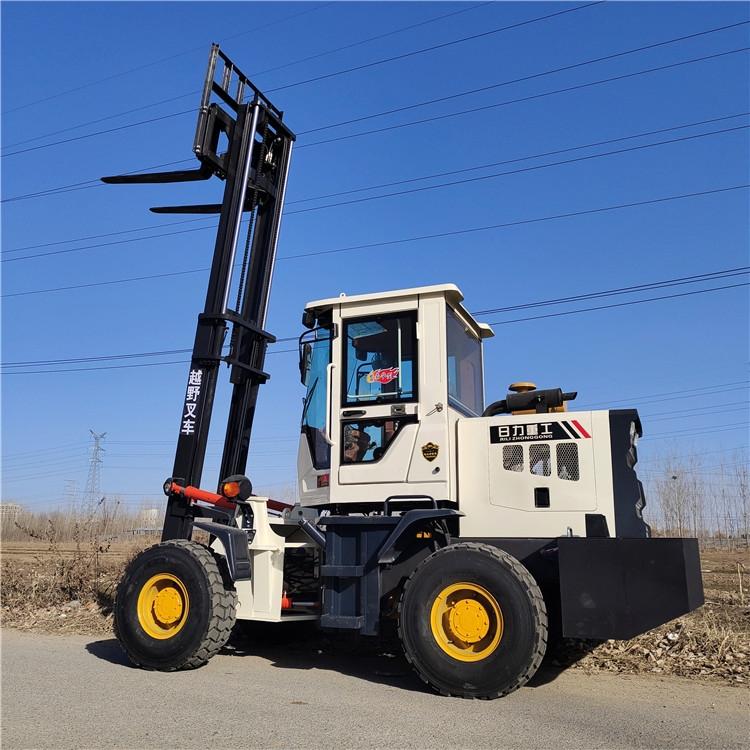3.5噸全新越野叉車 全地形工程工地用內燃叉車 建筑機械越野叉車