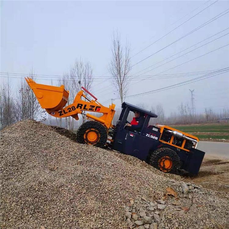 全新裝載機井下裝載機礦用小鏟車帶側翻