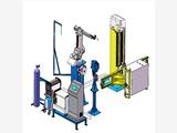 威勝電氣認證服務商 立式升降型充氣柜機器人焊接系統 創研智造