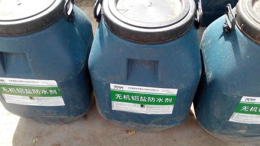 新聞:廣西梧州無機鋁鹽防水劑配比