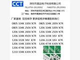 貼片電容規格型號有那些 南京匯聚專供 支持驗廠