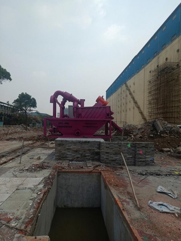 建筑打樁泥漿處理設備循環利用山西大同