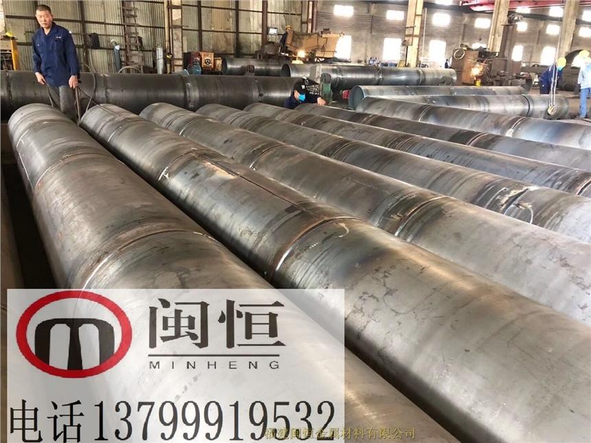 江西鷹潭鋼板卷管理論重量表大口徑螺旋鋼管廠家交貨期快