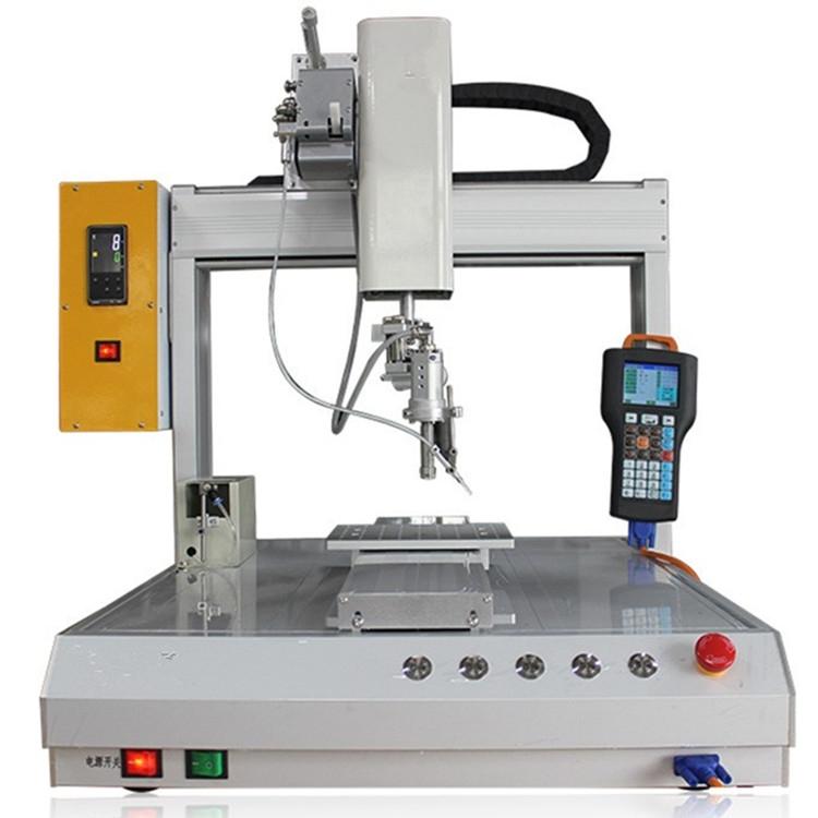 全自动双头 led焊锡机焊线机usb双头自动焊锡机器