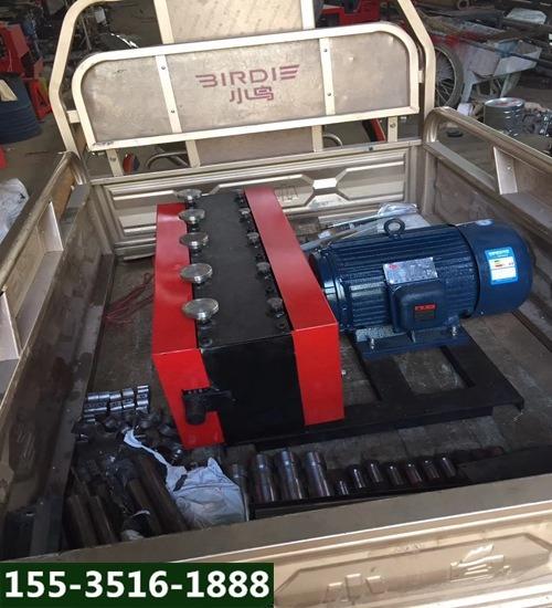 安徽池州穿束机钢绞线穿线机工作原理