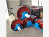 山東帶式輸送機配件包膠滾筒優質廠家