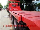 昆山市现车供应小三轴拉挖机拖车
