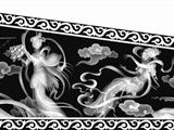 提供周口柏木棺材雕刻機龍鳳全圖