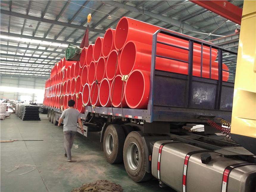 隧道逃生管贵州超高分子超高强度隧道逃生管道包运直达
