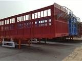 山东梁山新款13米轻型半挂车  13米低平板半挂车  13米仓栅式半挂车