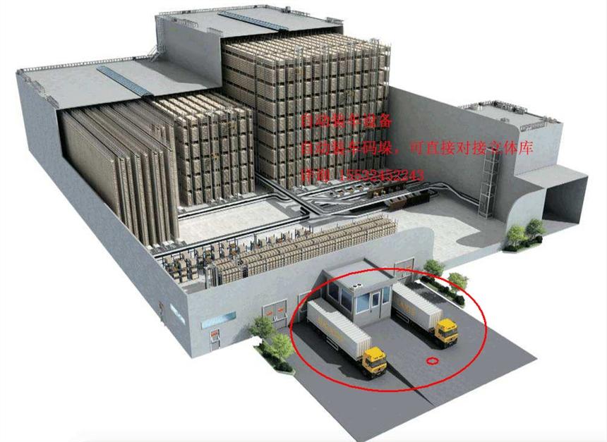 智能紙箱裝車輸送機 高效智能快速定量裝車系統