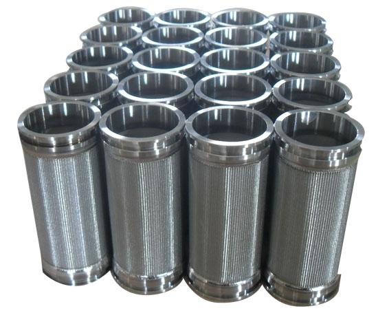 高溫除塵濾筒潤滑油不銹鋼燒結網濾芯過濾器廠家非標定制