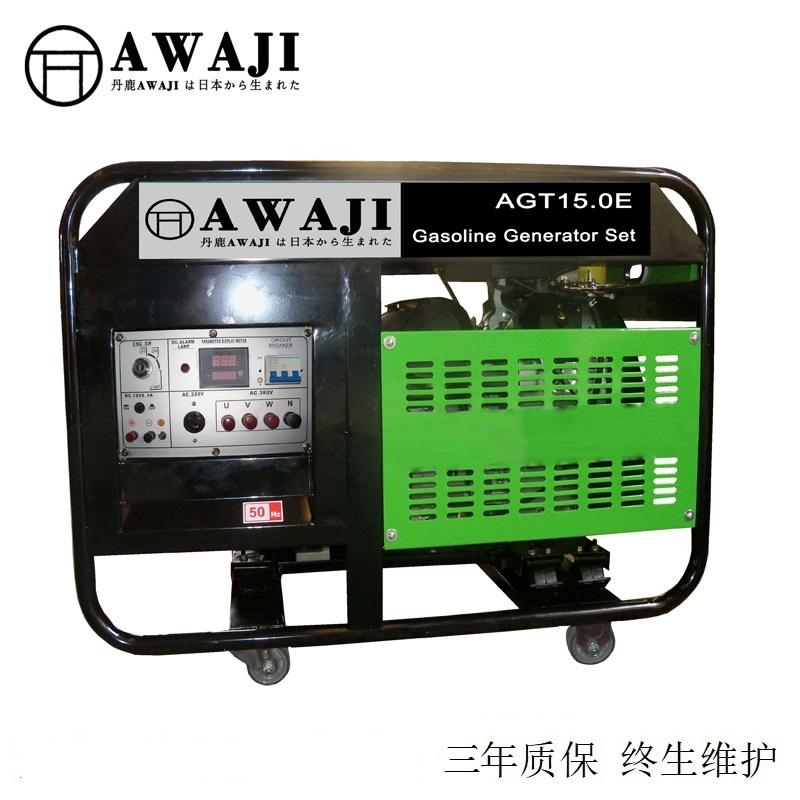 廣州15000瓦汽油發電廠家品牌報價
