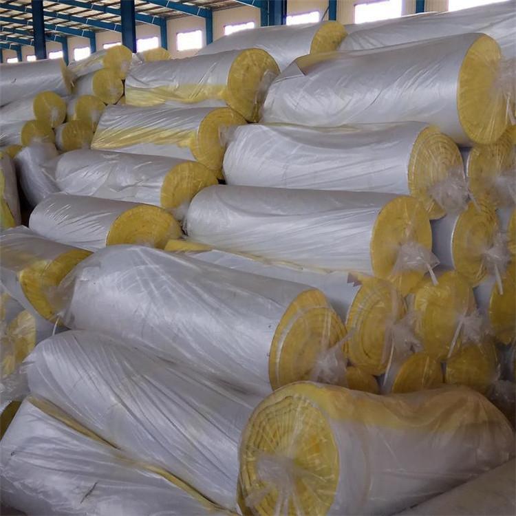 耐高温养殖大棚保温材料 玻璃棉管安装施工