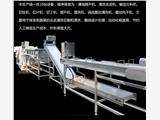 供应江西学校营养餐配送中心净菜加工流水线 中央厨房蔬菜加工自动化设备