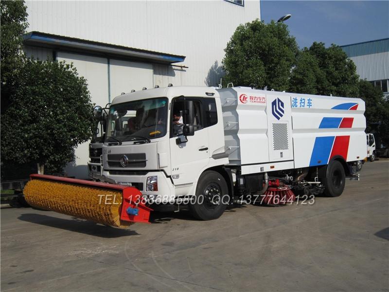 5吨洗扫车价格_重汽15方洗扫车价格_中型绿化环卫扫地车