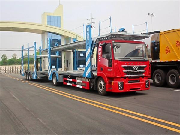 葫芦岛市轿运车标准_程力中置轴轿运车厂家