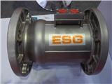 ESG法兰式不锈钢气控梭阀DN100 PN16同轴阀吹灰阀