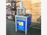不銹鋼化工鍍鋅管沖孔切斷機圍欄沖孔壓槍尖設備80角鐵開孔液壓沖壓設備