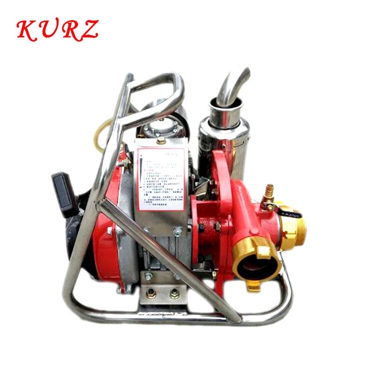 KURZ庫茲背負式森林消防泵2寸汽油高壓泵汽油機高壓泵高揚程