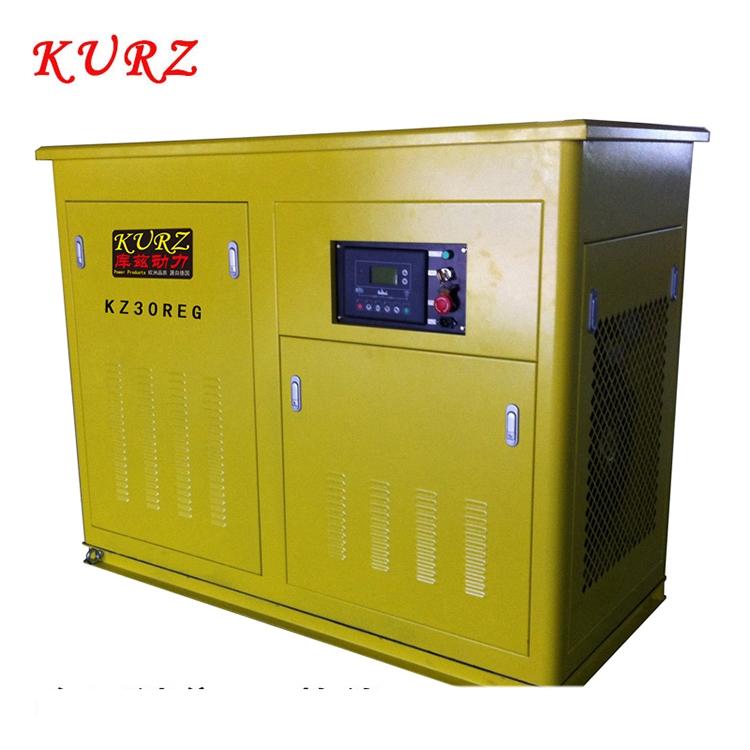 KURZ庫茲25KW三相靜音汽油發電機圖片參數價格