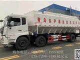 黔西南国六柳汽乘龙J6前四后八饲料运输车怎么操作卸料