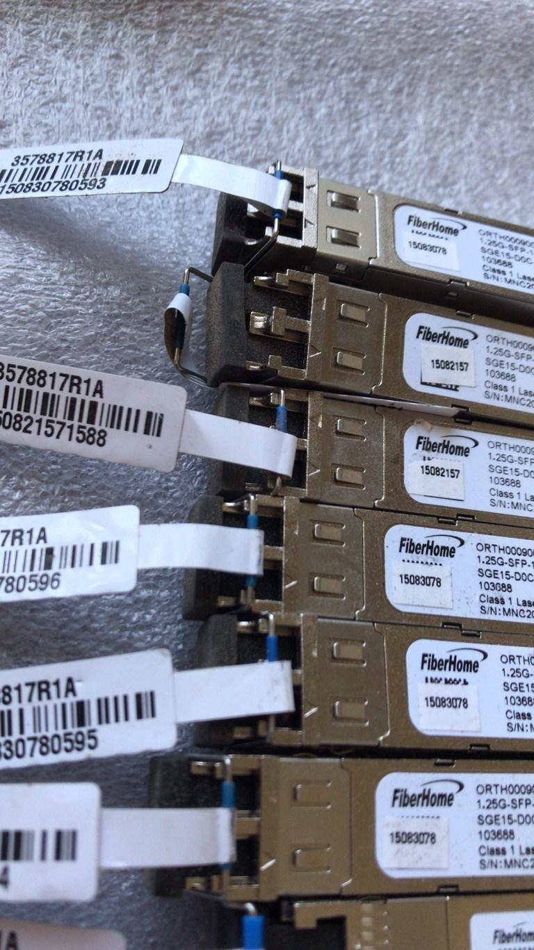 广安武胜县高价回收插片式分光器大量回收海信光模块光纤光缆