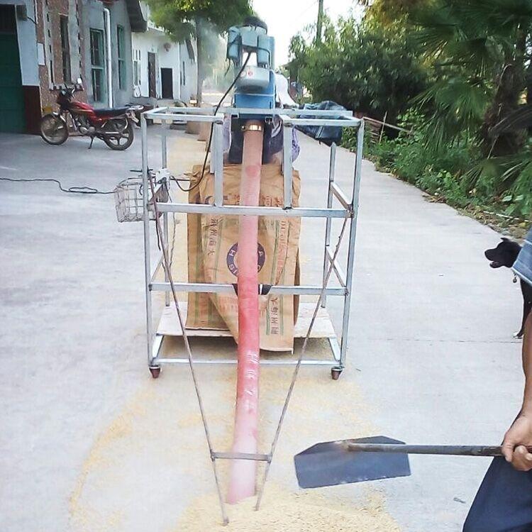 供应小型车载吸粮机 软管便携跟车收粮吸粮机