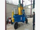 宁波稻壳压缩打块机 玉米秸秆青贮压块机 全自动打包机多少钱