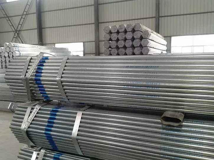 二连浩特DN20*1.7/26.8大棚镀锌钢管厂免运费