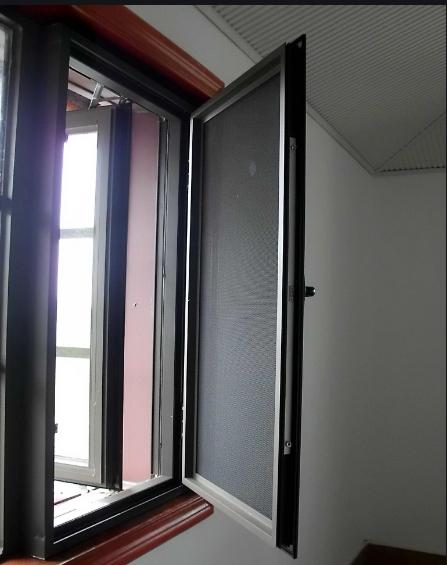 洛陽本地定制304不銹鋼窗紗隱形窗紗防蚊蟲又防盜