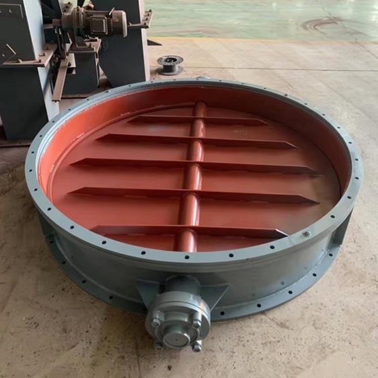河北博雅生產的不銹鋼200通風蝶閥