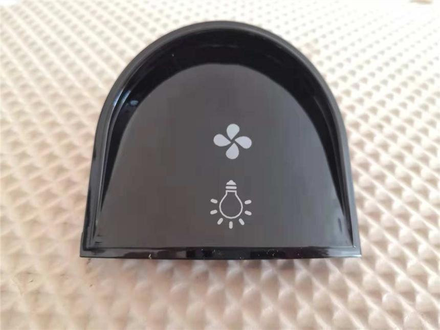 常州(塑料喷漆件)表面(激光打字),打标,镭雕,透光按键激光打标机