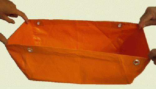 塑料涂覆布隔爆水袋矿用优质隔爆水袋生产批发销售
