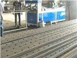 爬架冲孔机佛山厂家6米全自动冲孔机方管冲孔机