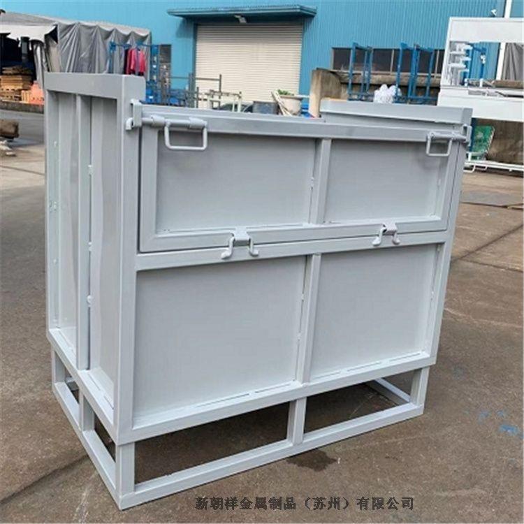 运输钢制料箱加工定制