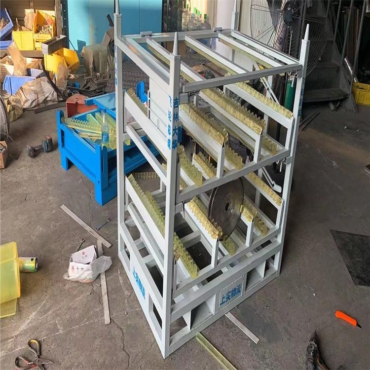 上海新朝祥 翻板料架 節約空間汽車料架生產廠家
