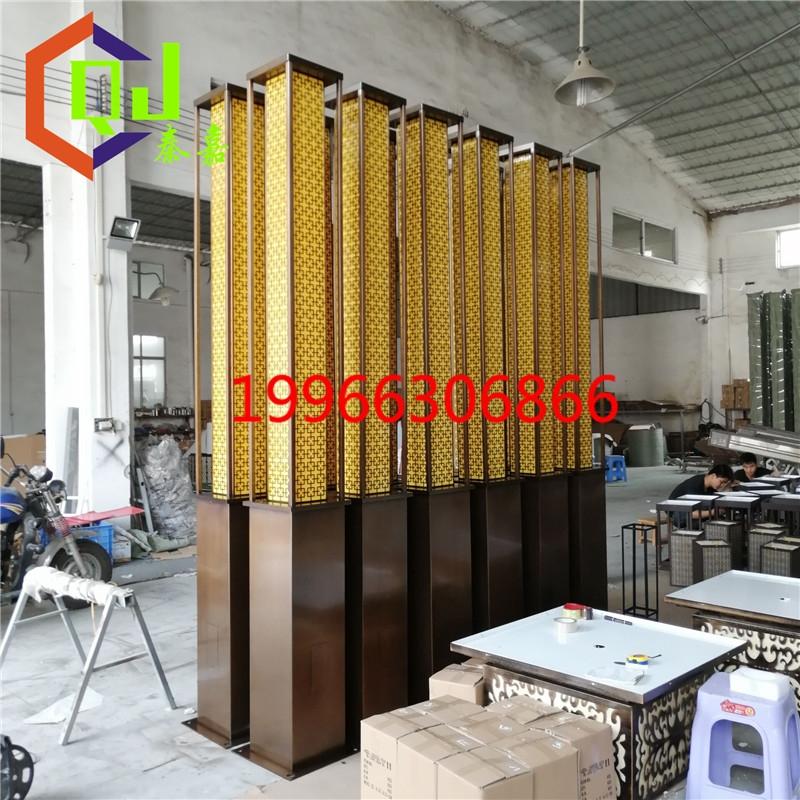房地产示范区两侧灯柱大量生产拉丝效果景观灯
