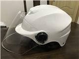 广西南宁安全帽批发生产厂家白色安全帽电瓶车安全帽批发价格表