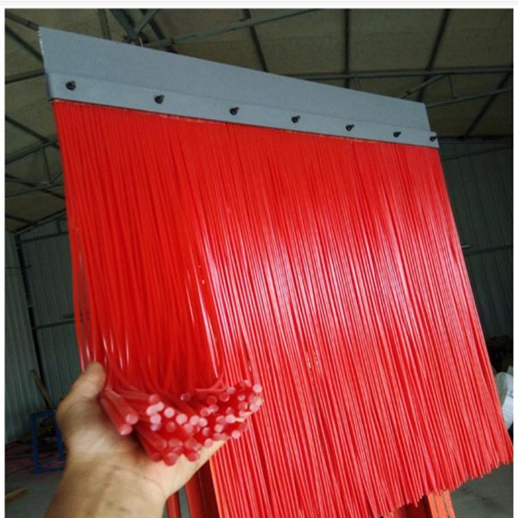 耐磨橡膠防塵簾美奐導料槽密封軟橡膠簾阻燃