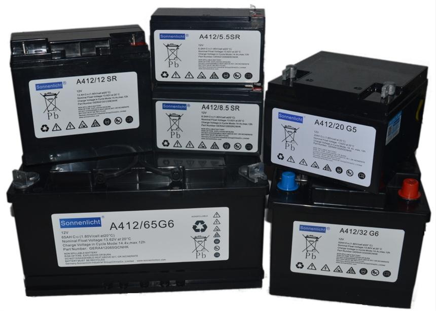 德国阳光蓄电池A412/200A